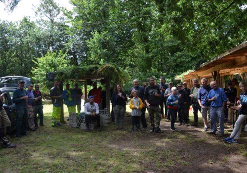 L'équipe de bénévole de la Fête des Menhirs à Languidic