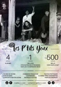 Concert les-ptits-yeux - Fêtes des Menhirs - Kersolan - Languidic - Morbihan
